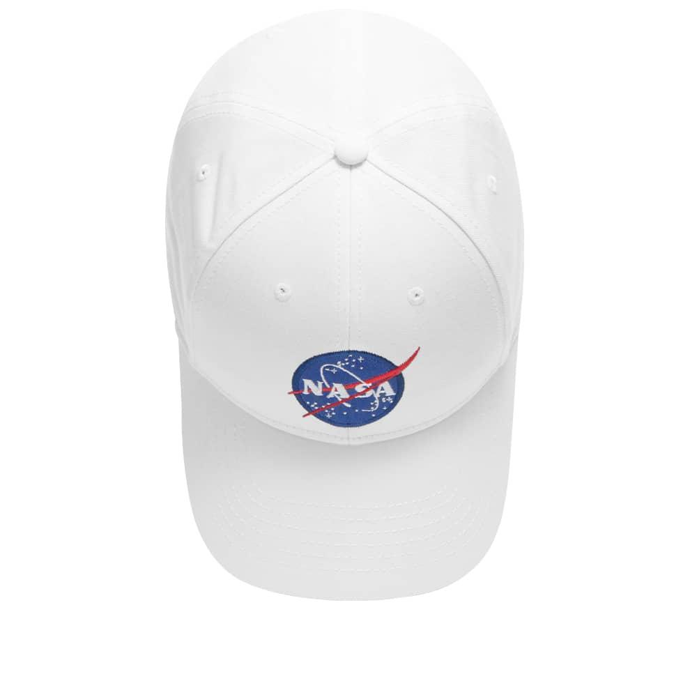 Alpha Industries NASA Cap - White