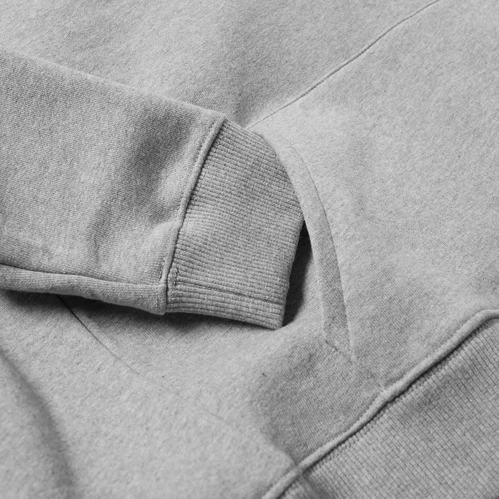 Axel Arigato College Logo Hoody - Pale Grey Melange