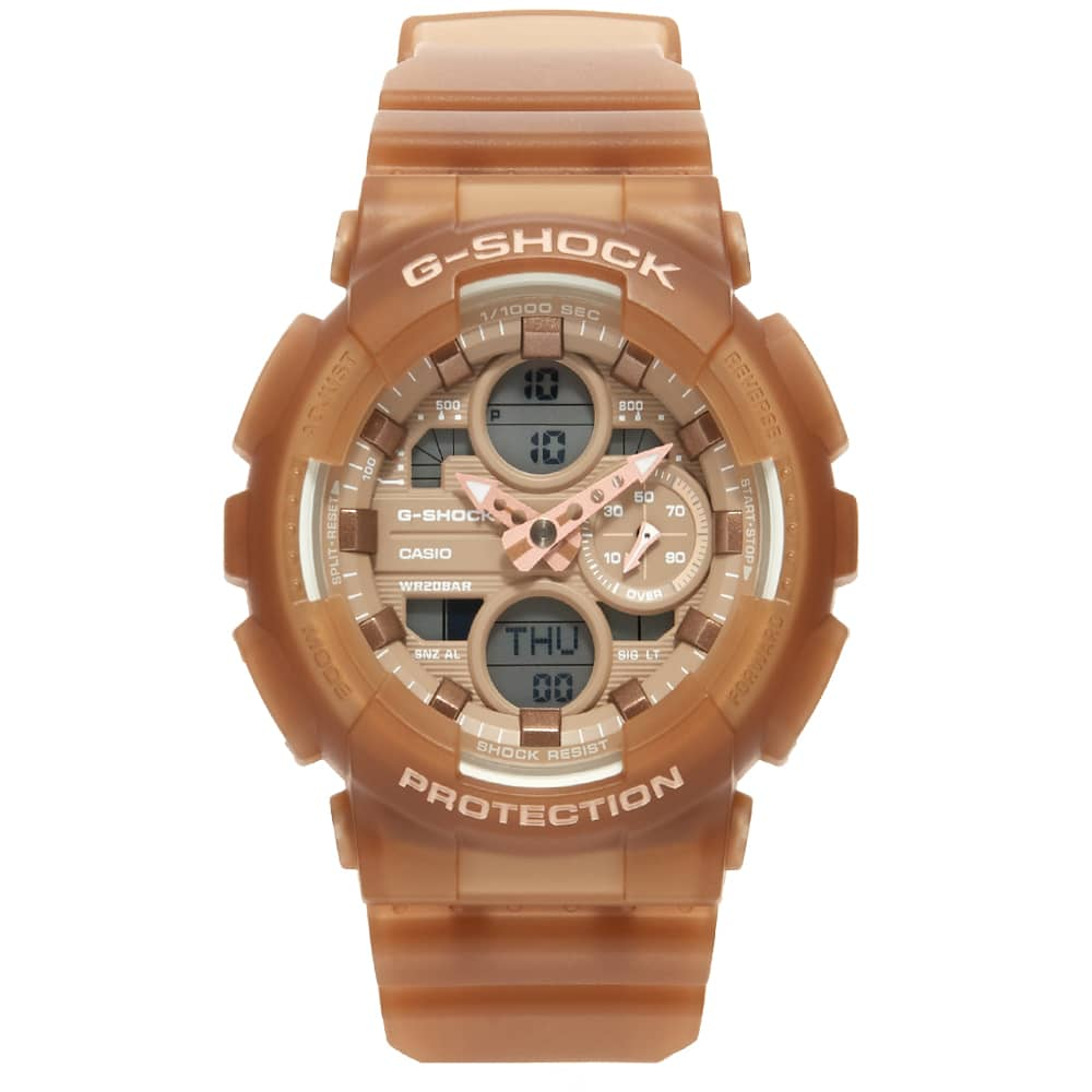 Casio G-Shock GMA-S140NC Watch - Clear Nude Frost