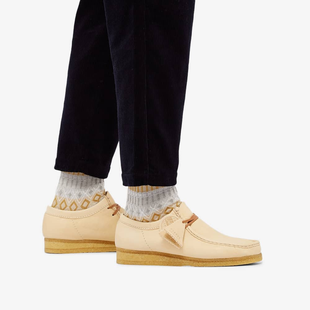 Clarks Originals Horween Leather Wallabee - Natural Leather