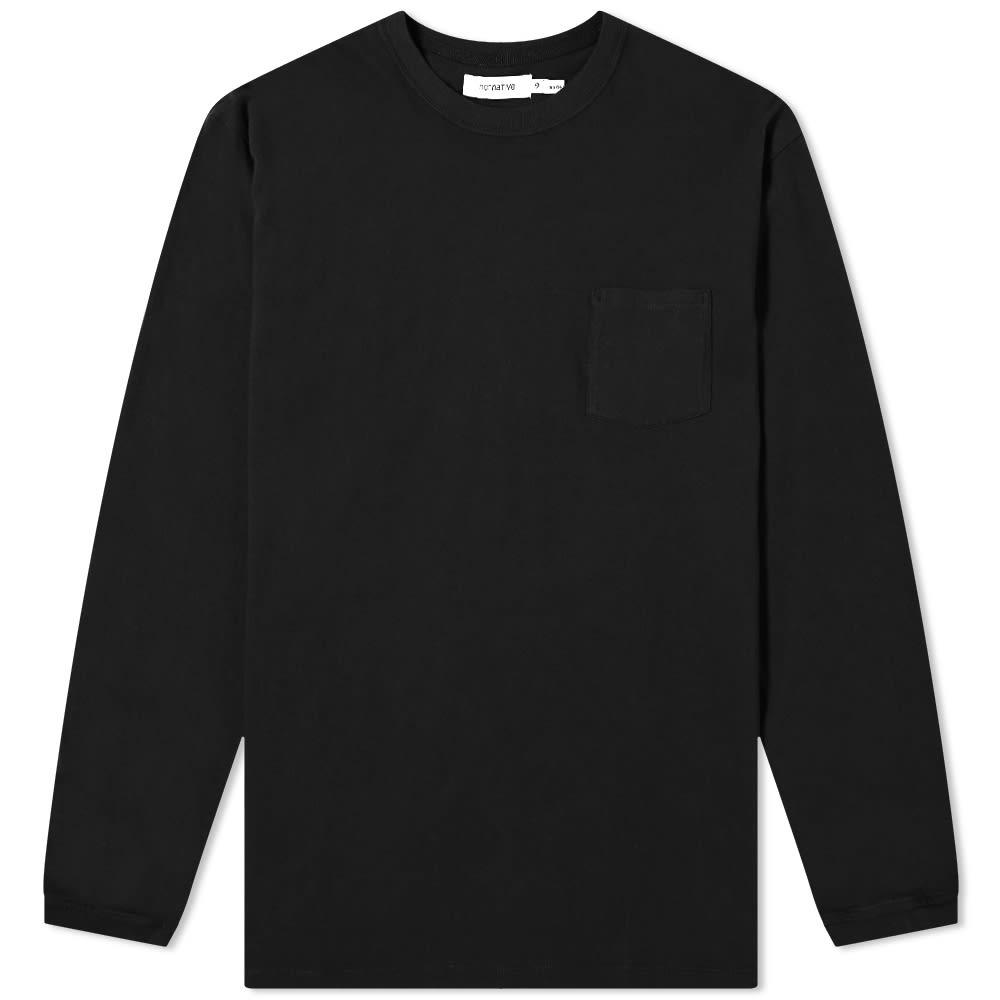 Nonnative Long Sleeve Dweller Classic Tee - Black