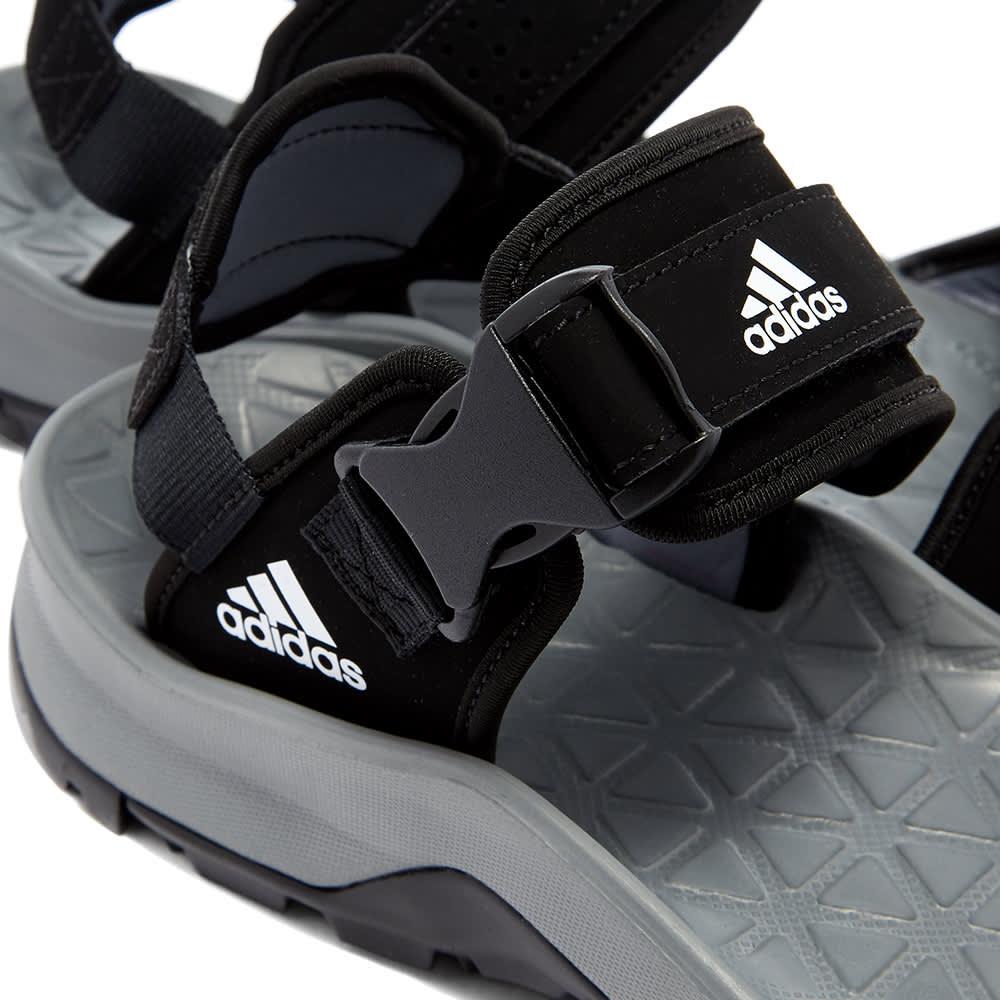 Adidas Cyprex Ultra Sandal II - Black, Vista Grey & White