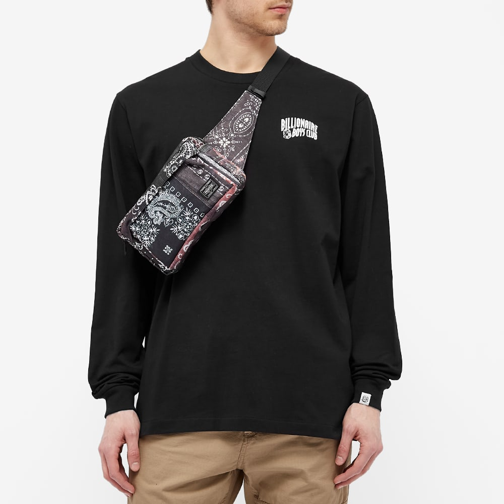 Billionaire Boys Club Long Sleeve Small Arch Logo Tee - Black