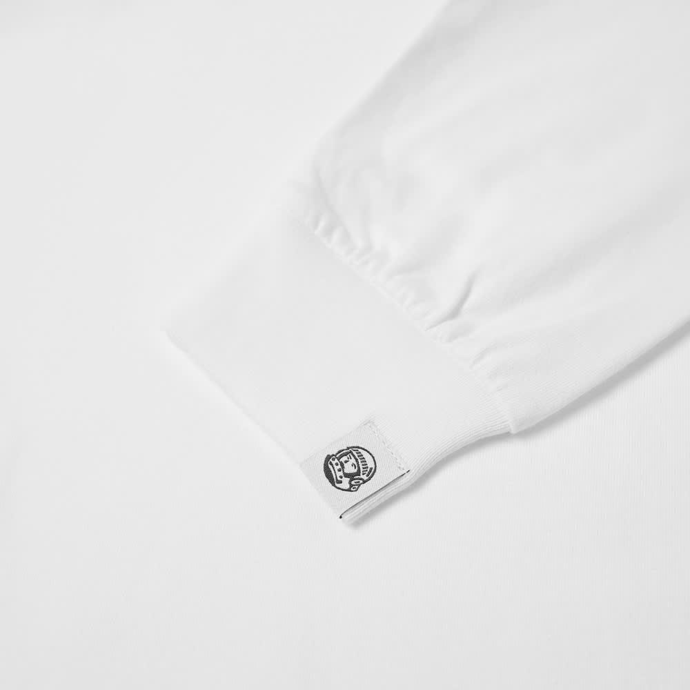 Billionaire Boys Club Long Sleeve Small Arch Logo Tee - White