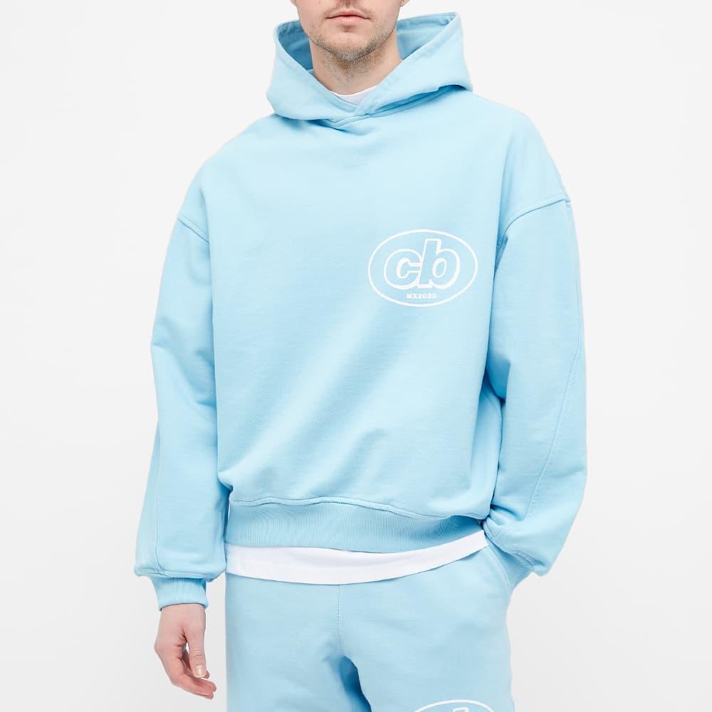 Cole Buxton MX Logo Hoody - Sky Blue