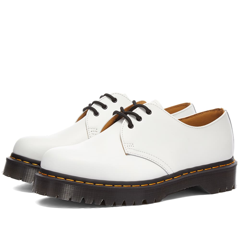 Dr. Martens 1461 Bex Shoe - White Smooth