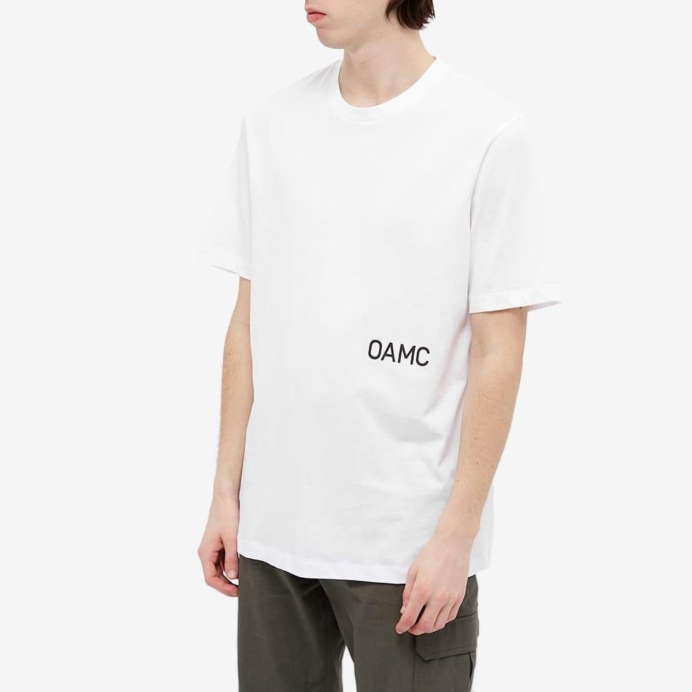 OAMC Wise Logo Tee - White