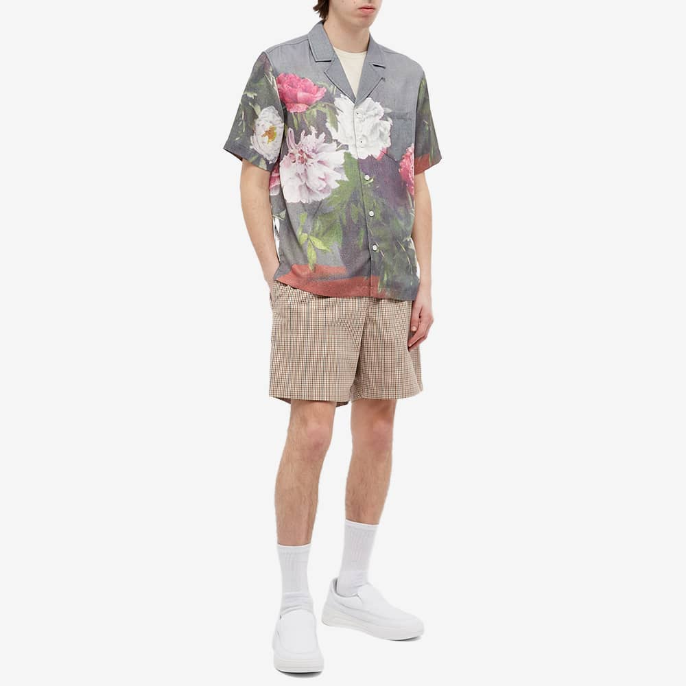 Soulland Orson Floral Shirt - Green AOP