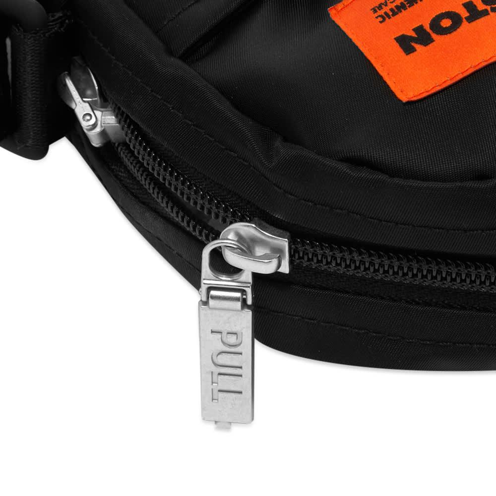 Heron Preston Nylon Cross Body Bag - Black