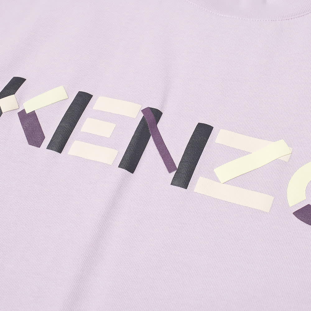 Kenzo Multicolour Printed Logo Tee - Wisteria