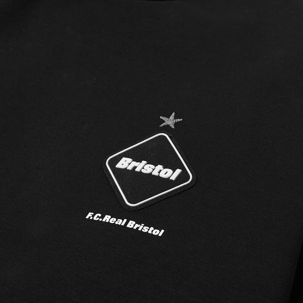 F.C Real Bristol Sweat Pullover Hoody - Black