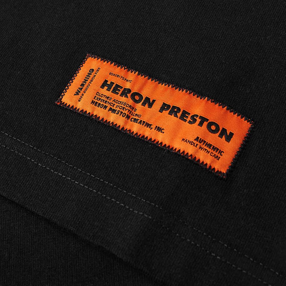 Heron Preston Oversized Herons Captcha Tee - Black