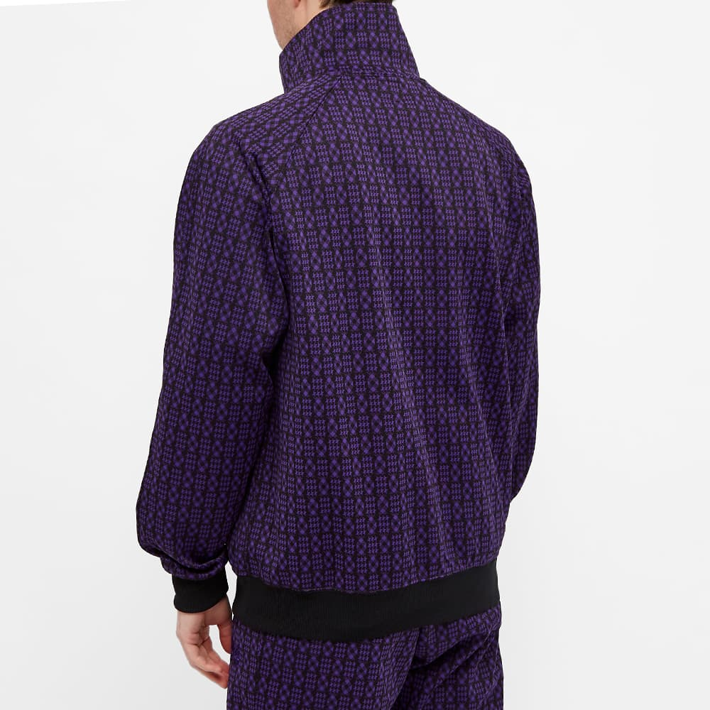 Needles Poly Patterned Track Jacket - Houndstooth