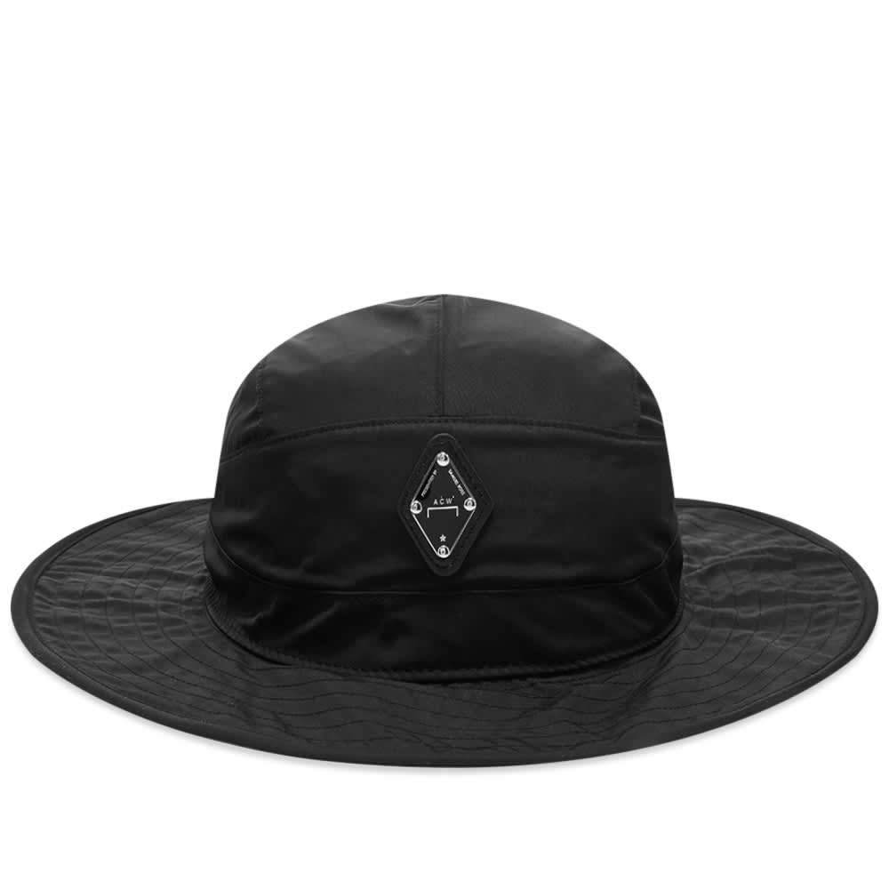 A-COLD-WALL* Diamond Logo Boonie Hat - Black