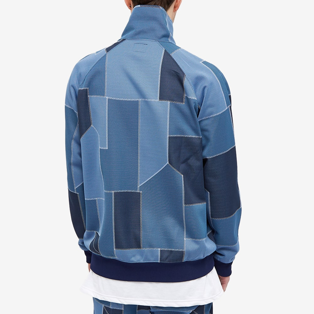 Needles Poly Patterned Track Jacket - Patchwork