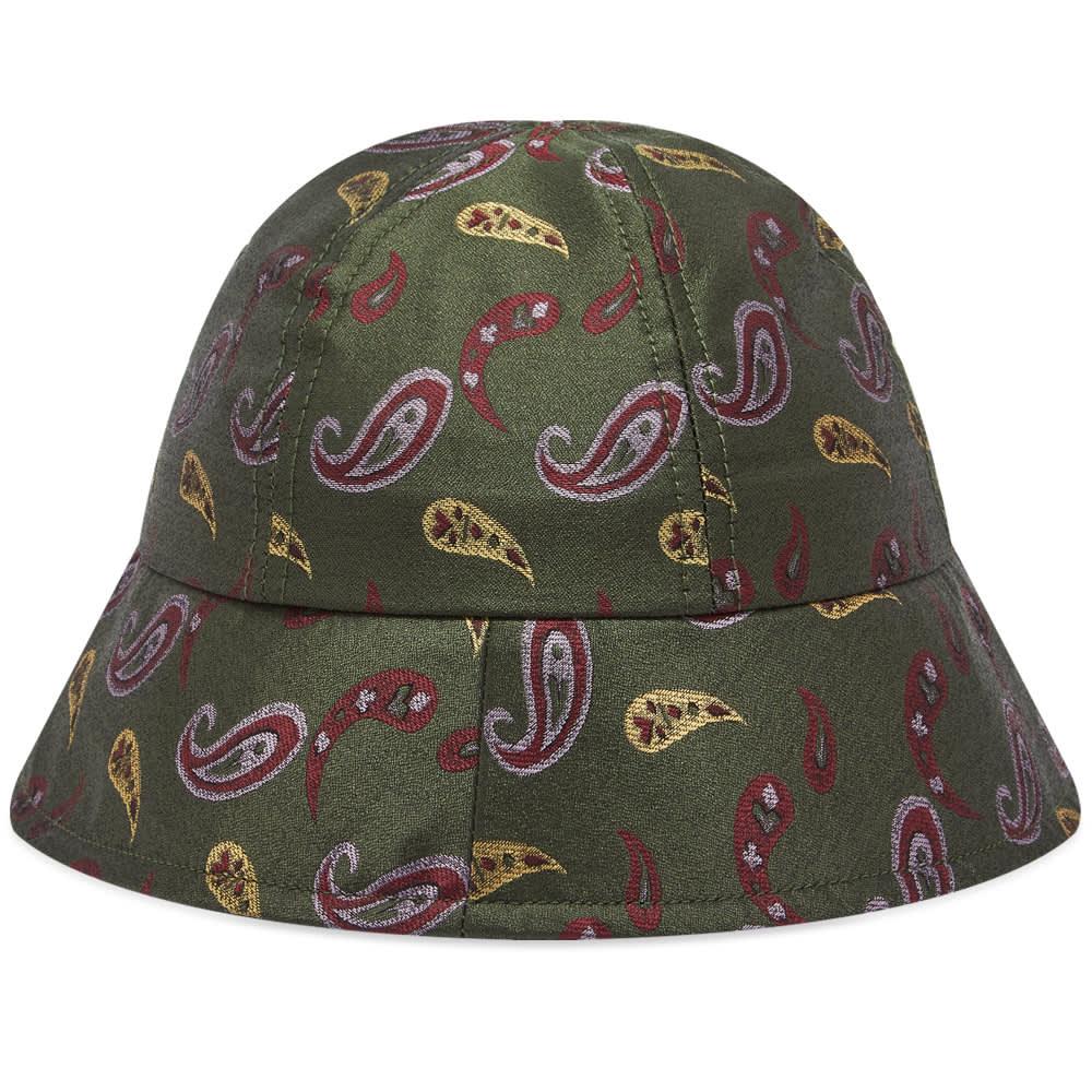 Hender Scheme Bucket Hat - Paisley Green