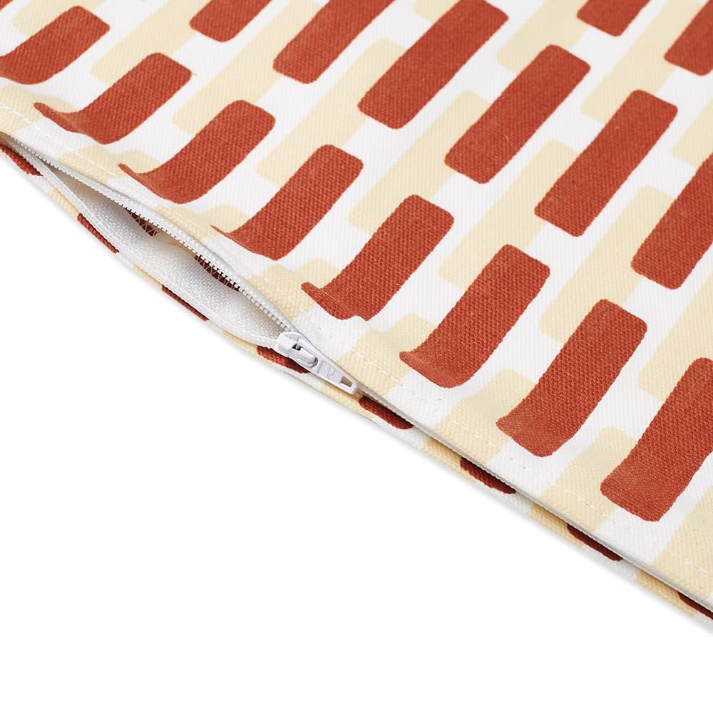 Artek Siena Cushion Cover - Small - Brick & Sand Shadow