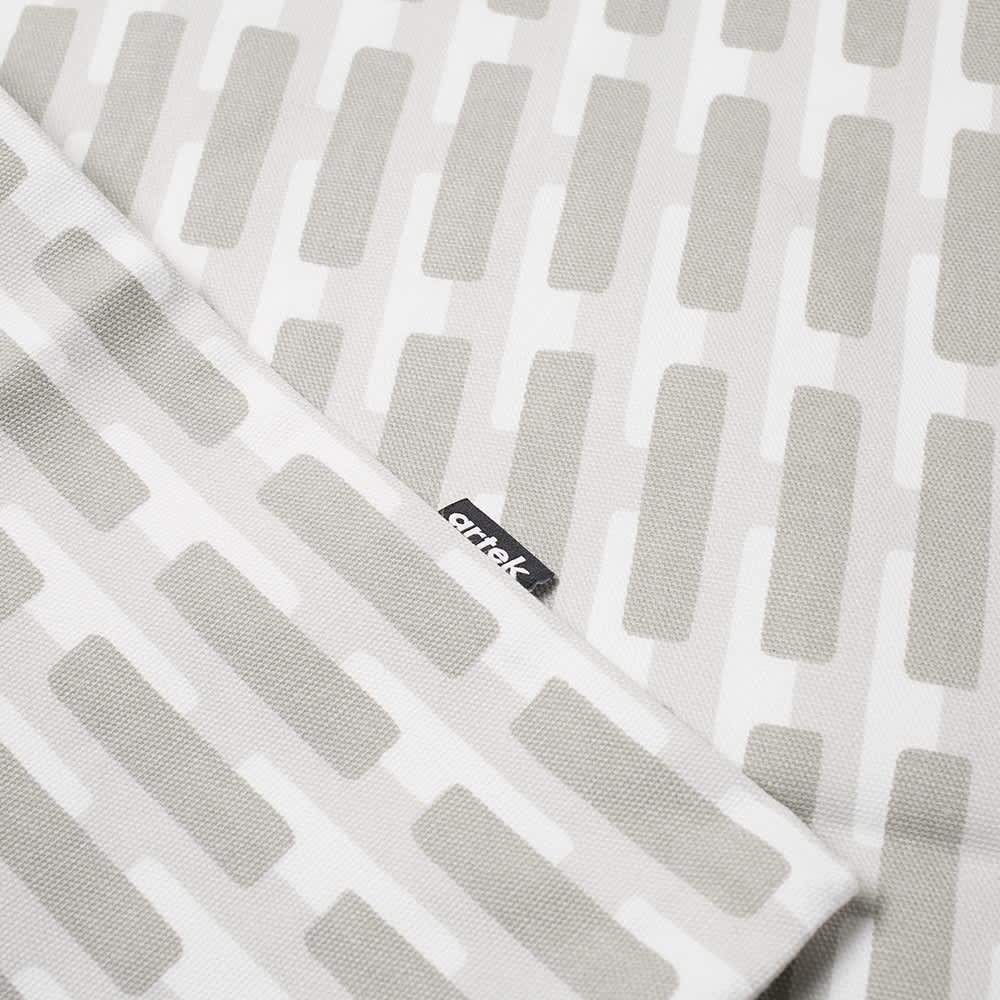 Artek Siena Cushion Cover - Small - Grey & Lightgrey Shadow