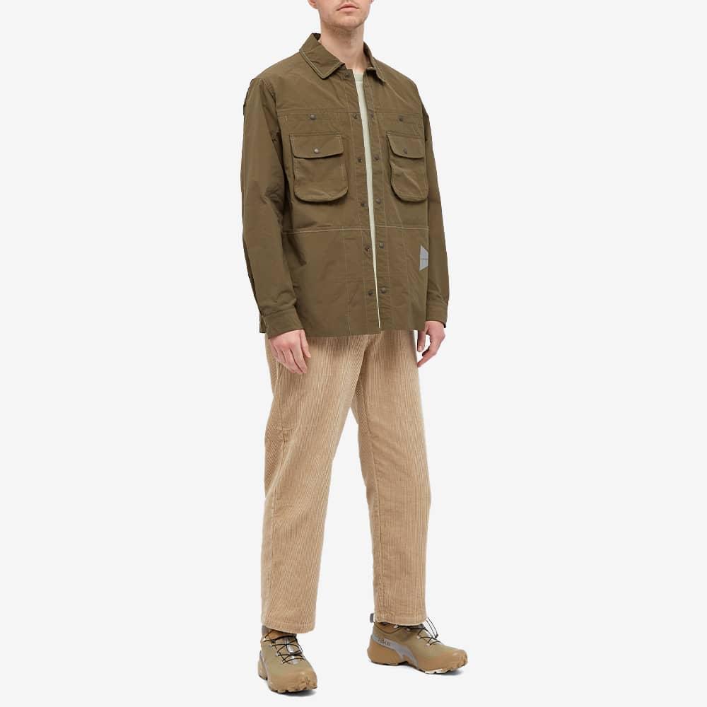 and wander Nylon Taffeta Jacket - Khaki