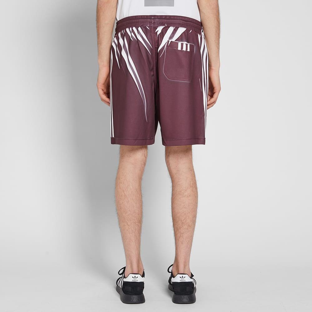 Adidas Originals by Alexander Wang Short - Maroon & White