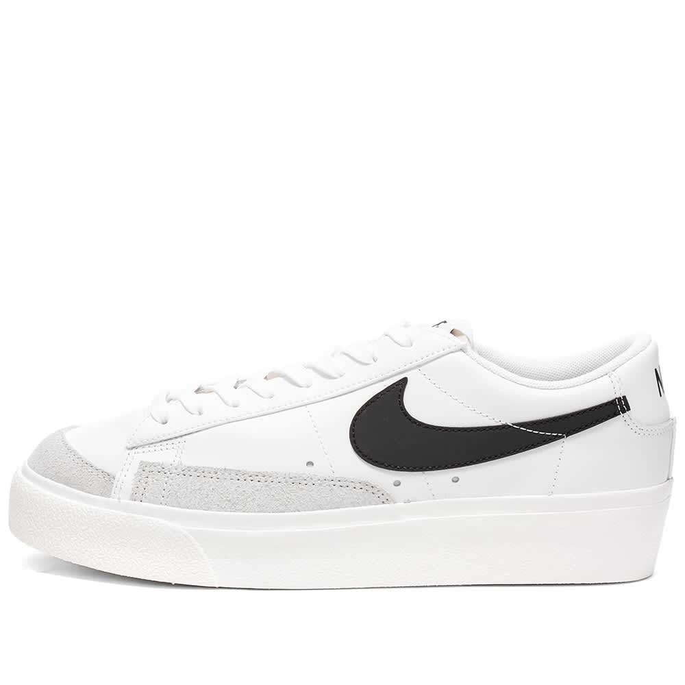 Nike Blazer Low Platform W - White, Black, Sail & Orange