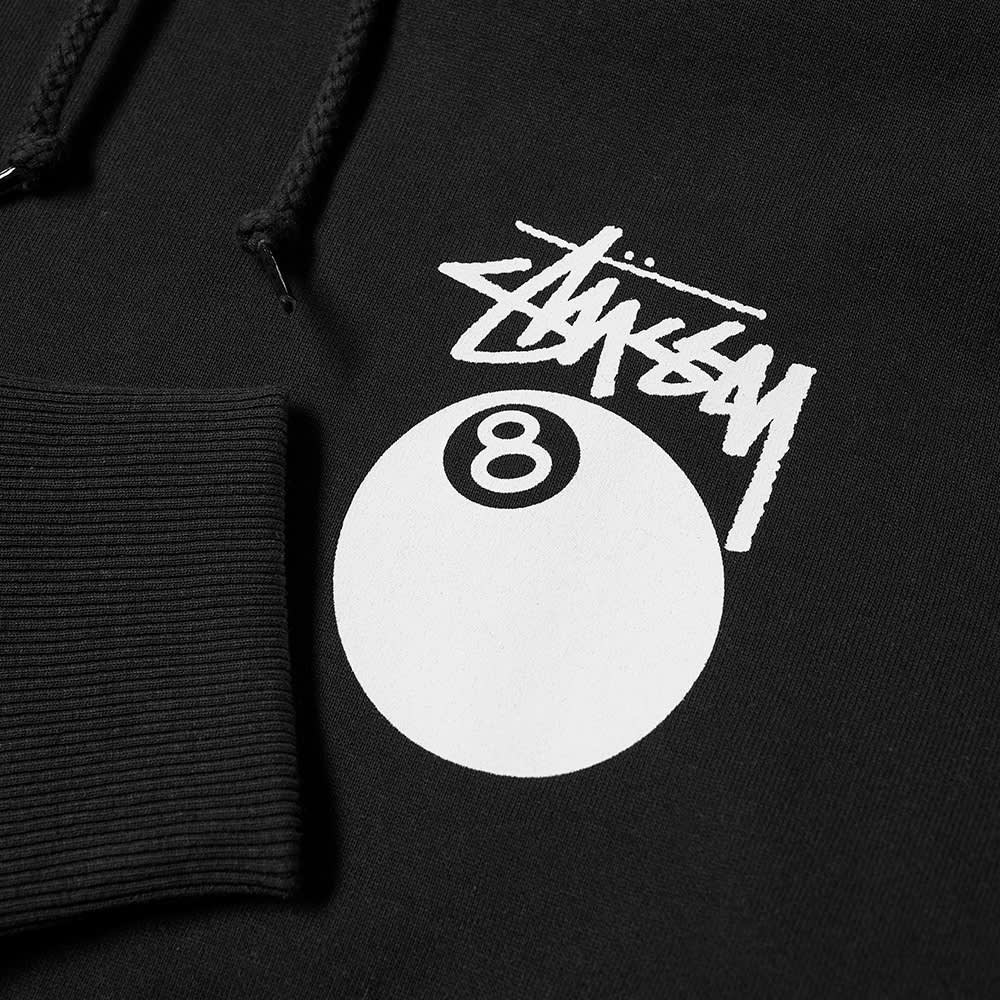 Stussy 8 Ball Hoody - Black