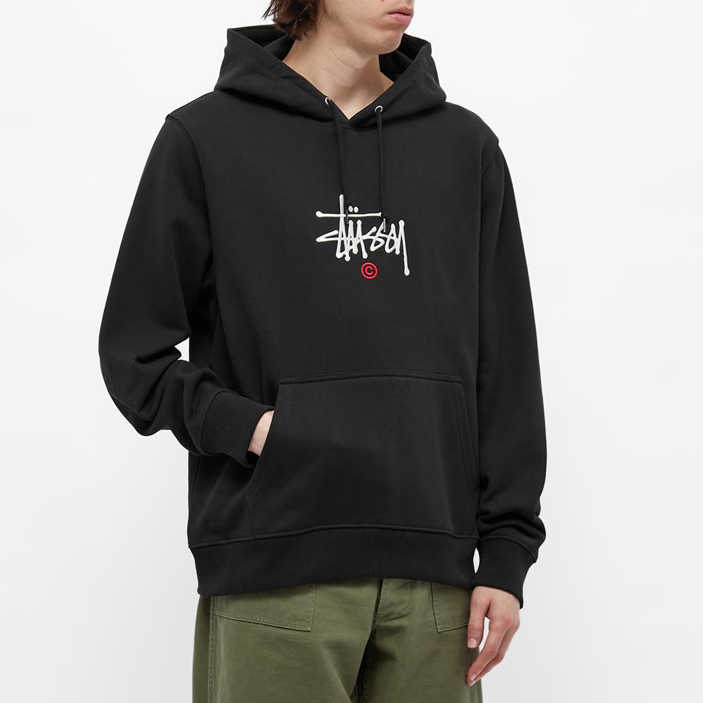 Stussy Copyright Applique Hoody - Black