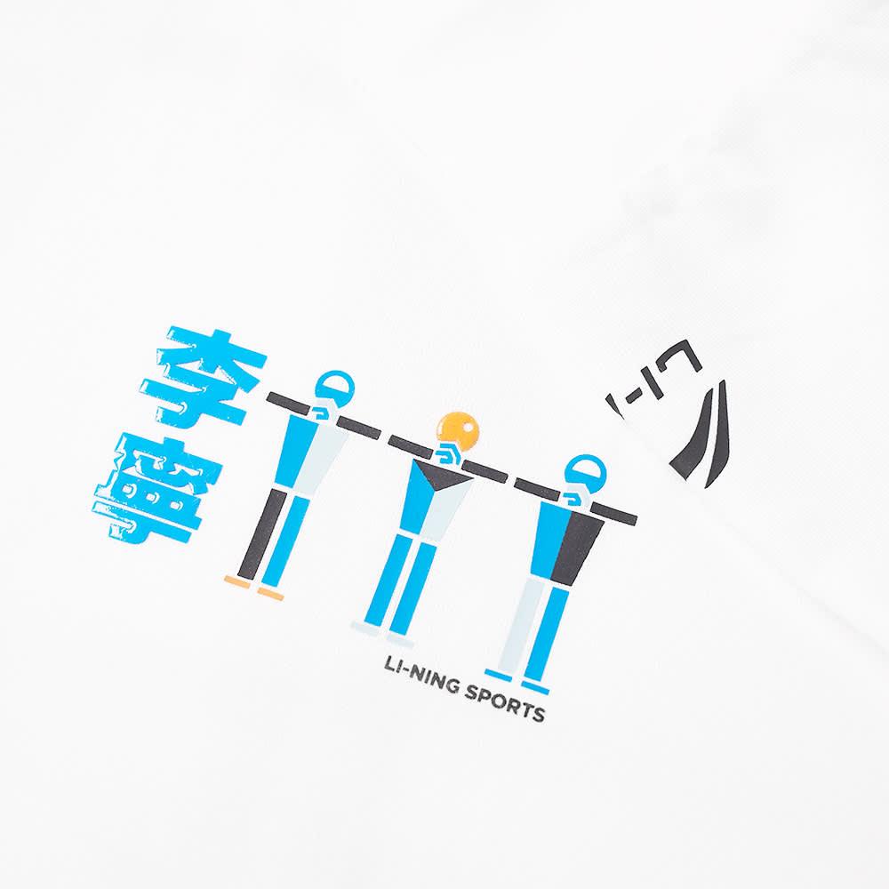 Li-Ning Long Sleeve People Tee - White