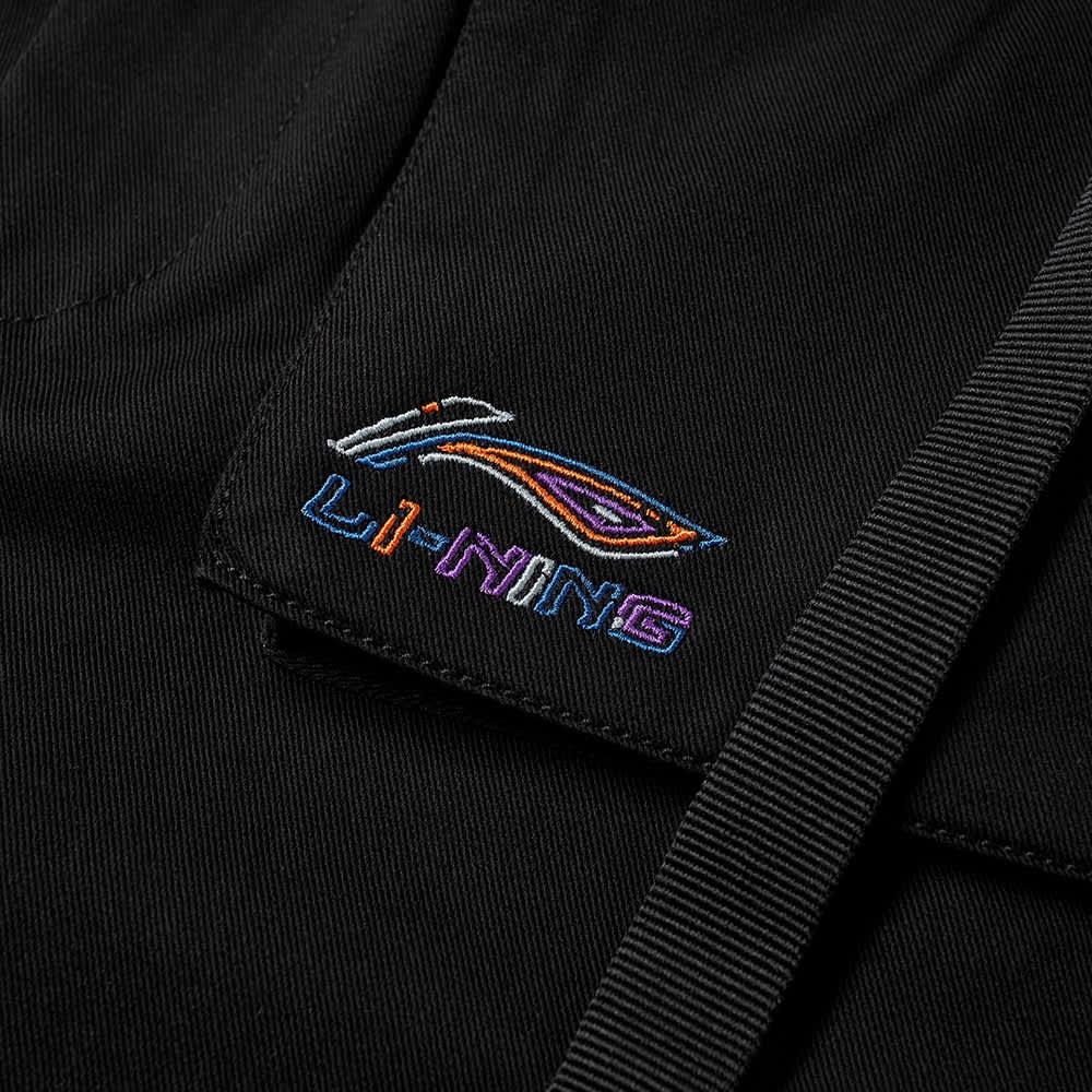 Li-Ning Logo Track Pant - Black
