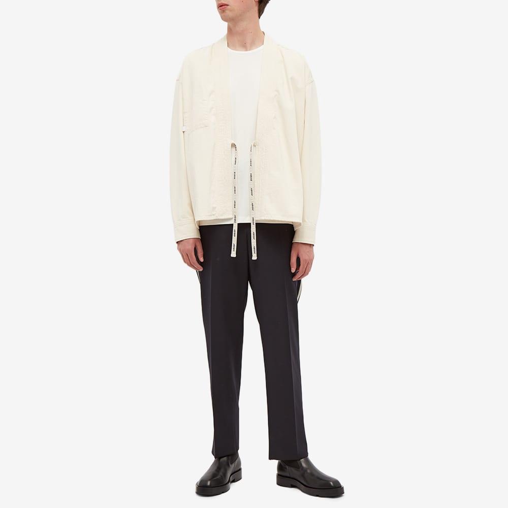 Ambush Kimono Denim Overshirt - Ecru