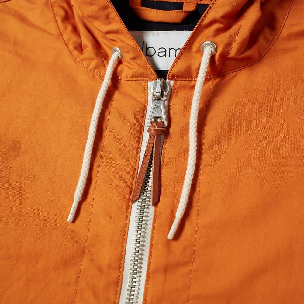 Albam Johnston Wax Cagoule - Burnt Orange