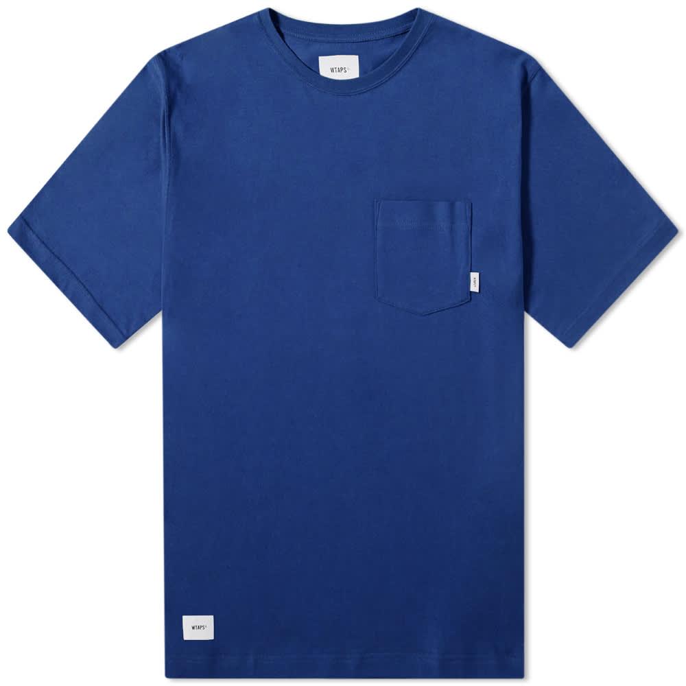 WTAPS Blank Tee - Blue