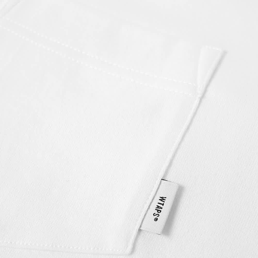 WTAPS Blank Tee - White
