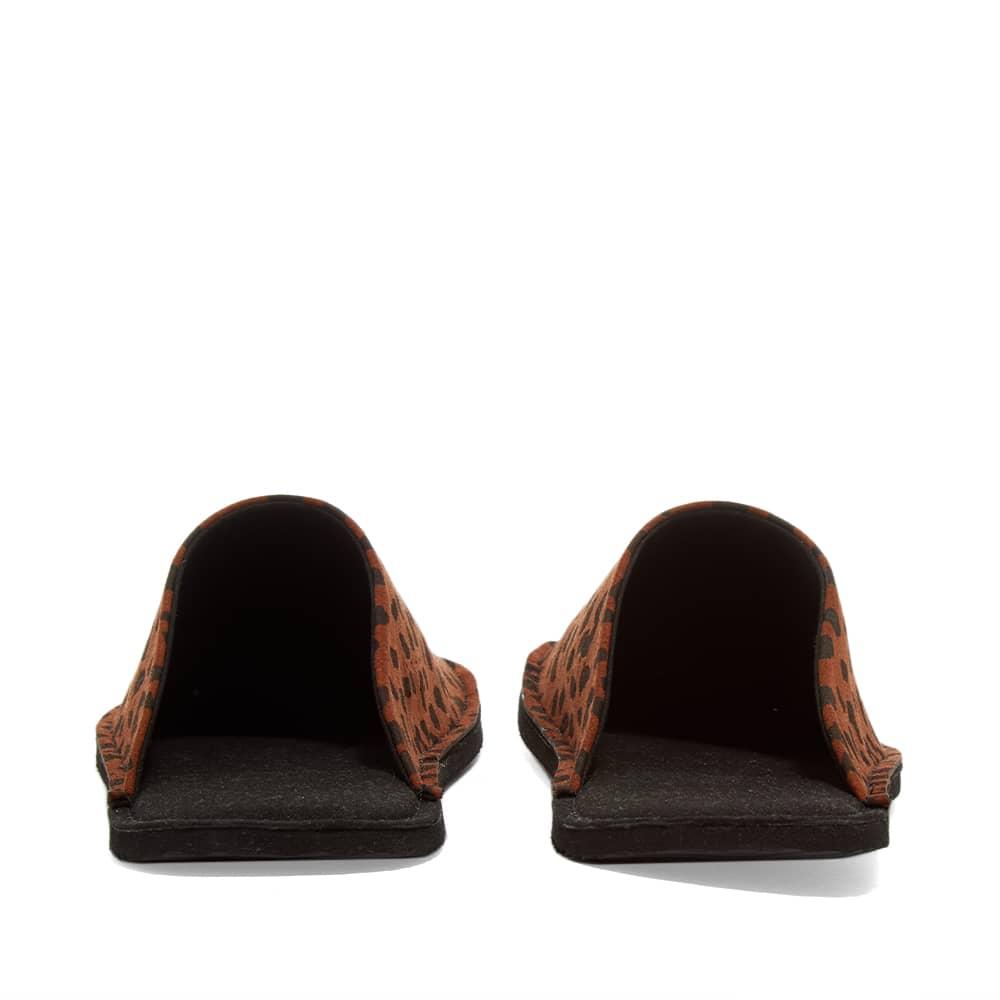 Wacko Maria x Suicoke Mule Sandal - Brown Leopard