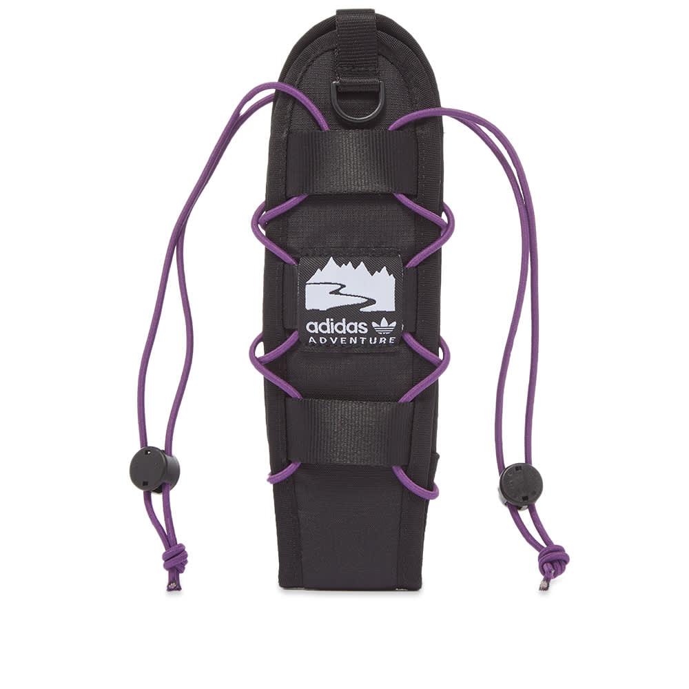 Adidas Adventure Bottle Holder - Black & Glory Purple