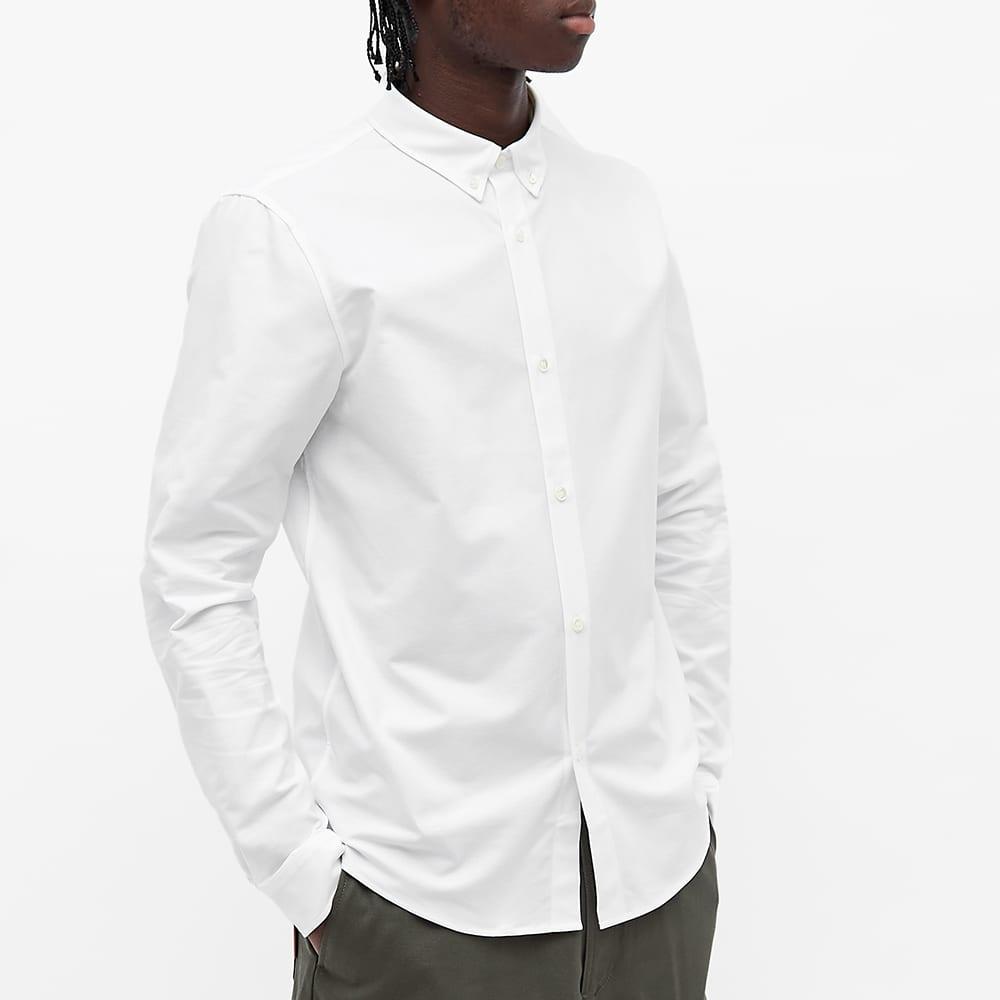 A.P.C. Button Down Oxford Shirt - White