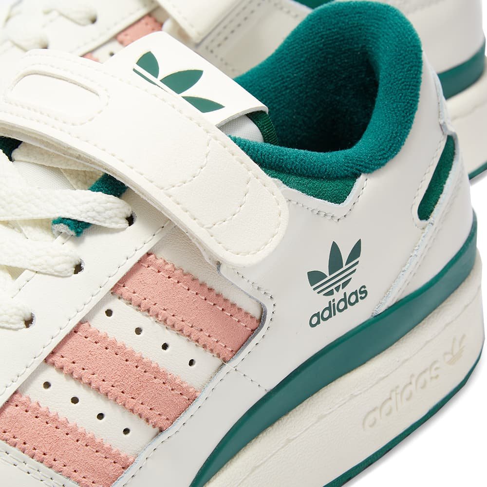 Adidas Forum 84 Low - Off White, Green & Pink