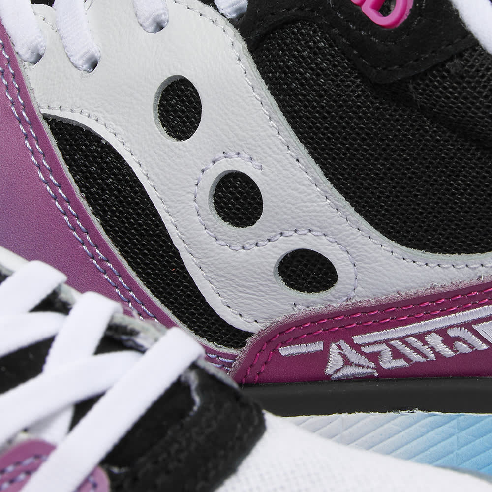 Saucony x Acribik Azura 'Tech Noir' - Schwarz & Pink