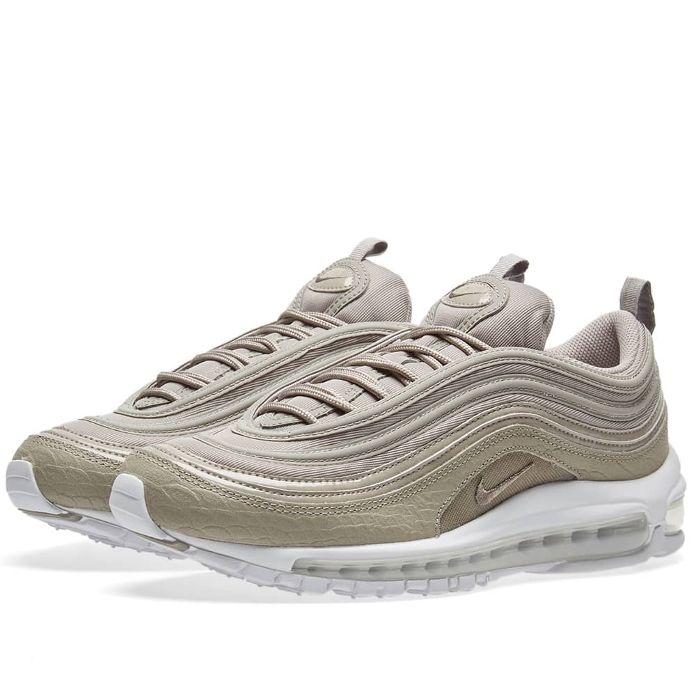 Inmundo Perfecto Faceta  Nike Air Max 97 Premium W Cobblestone & White | END.
