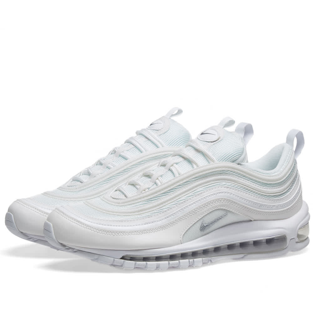 Nike Air Max 97 White, Grey \u0026 Black | END.