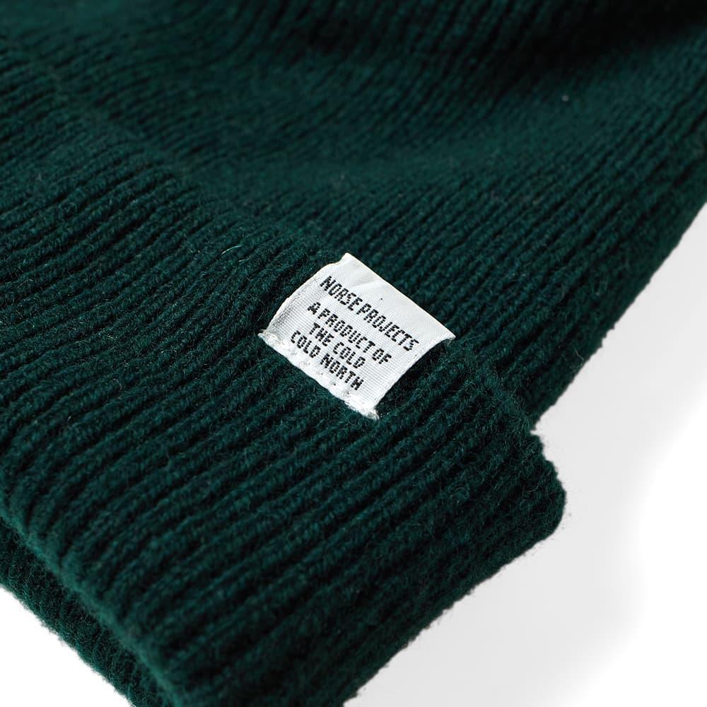 Norse Projects Beanie - Quartz Green