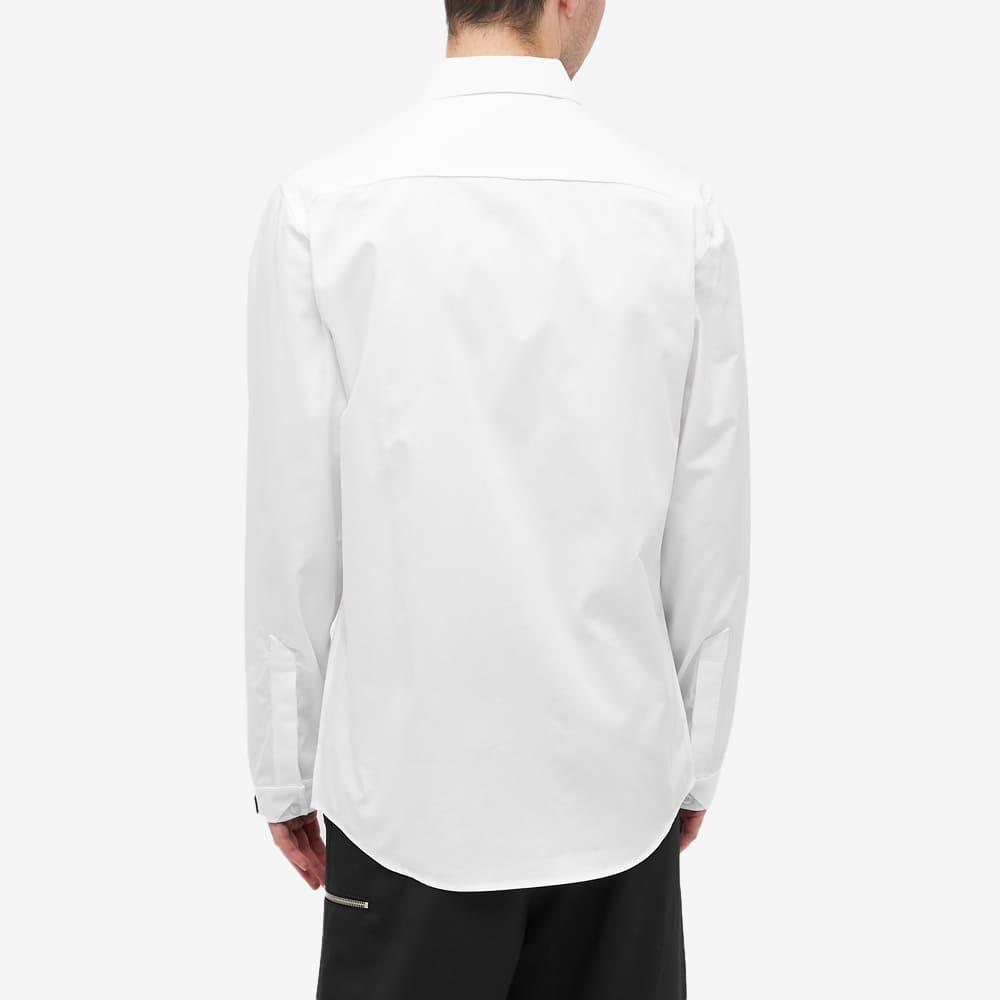 A-COLD-WALL* Logo Button Down Shirt - Whte