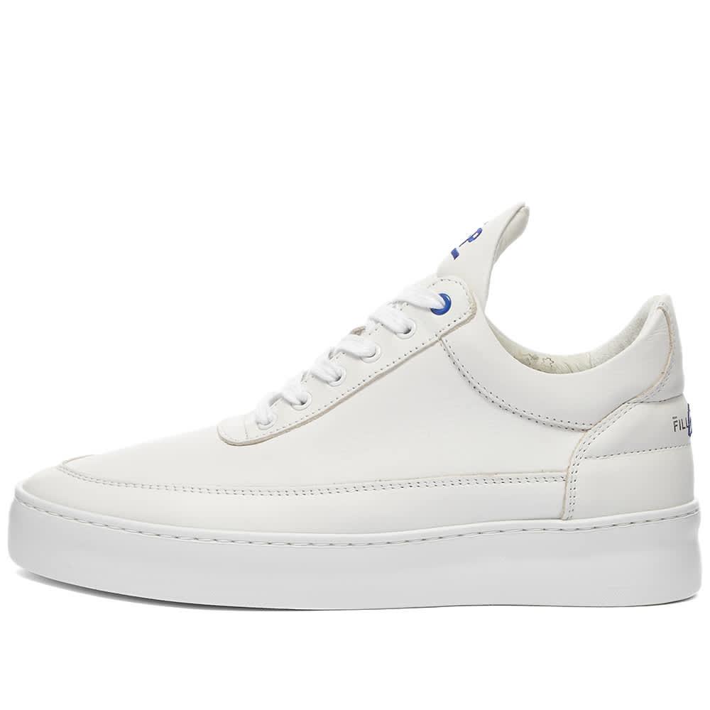 Filling Pieces Low Top Plain 683 Organic Sneaker - Organic White
