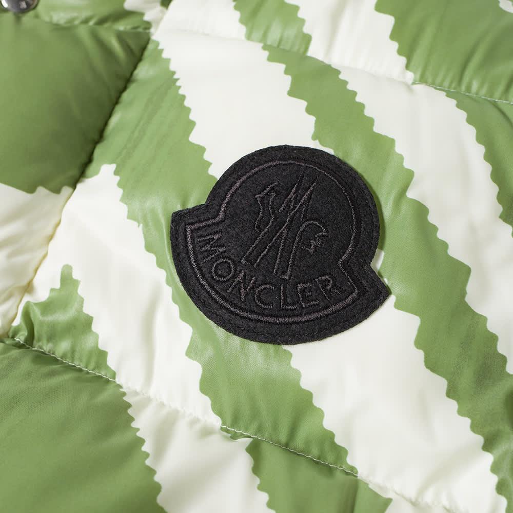 Moncler Genius 2 Moncler 1952 Kolyma Reversible Printed Down Jacket - Green, White & Black
