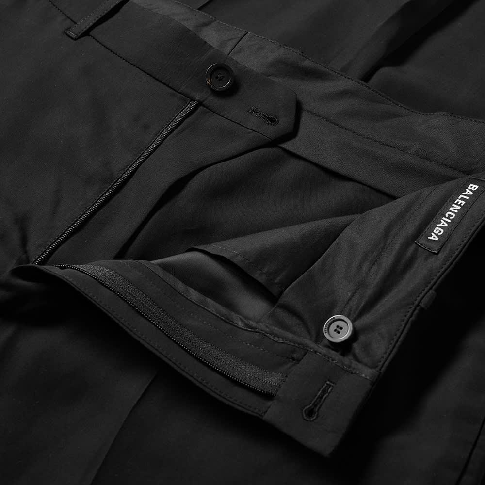 Balenciaga Adjustable Suit Pant - Black