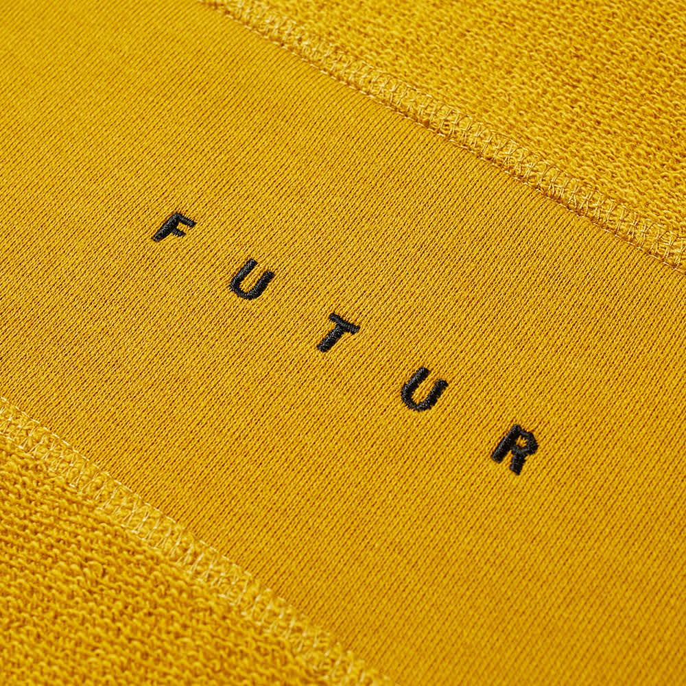 Futur Inside Out G Fit Crew Sweat - Mustard