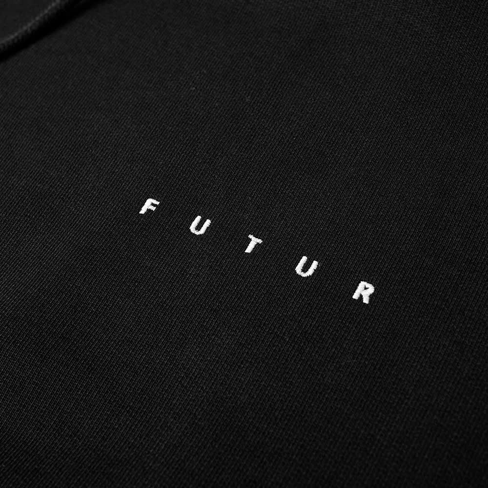 Futur Core Logo Hoody - Black