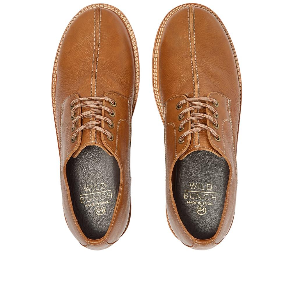 Wild Bunch Vibram Sole Seam Shoe - Tan Leather