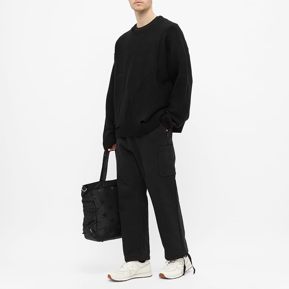 Undercover Jersey Cargo Pant - Black