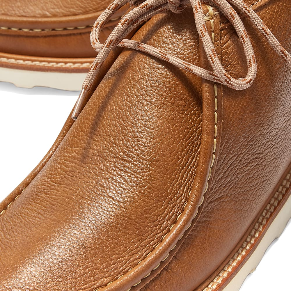 Wild Bunch Vibram Sole Wally Boot - Tan Leather